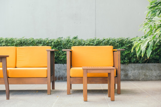 Vi har fået nye lounge havemøbler
